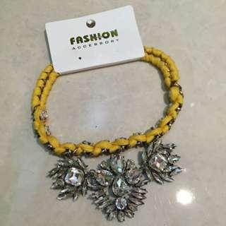 Kalung Kuning Diamond