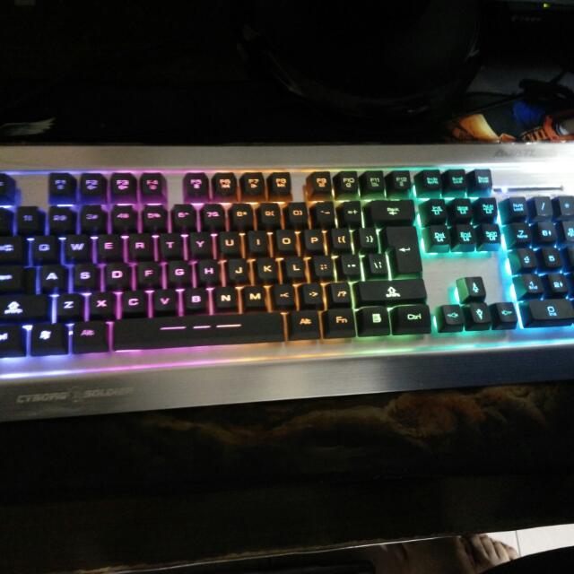 呼吸燈鍵盤