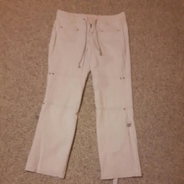Adjustable Length Capri Pants