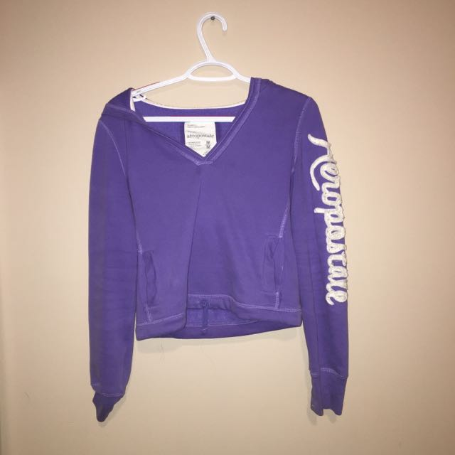 Aeropostale Cropped Sweater