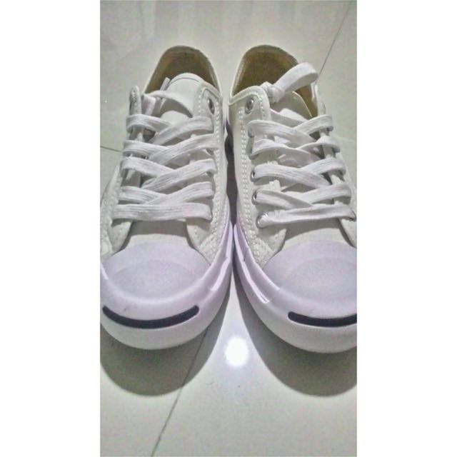 Authentic Canvas Converse Jack Purcell sneakers