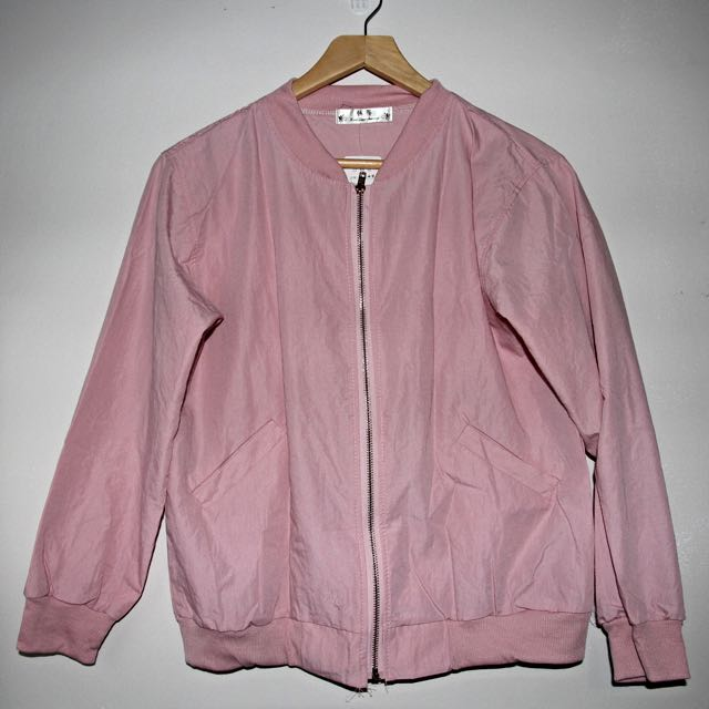 Baby Pink Bomber Lightweight