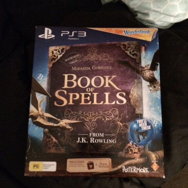 Book Of Spells PS3 Game