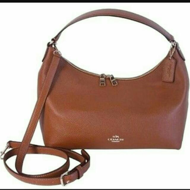 Brand NEW Coach Leather convertible shoulder & hand bag