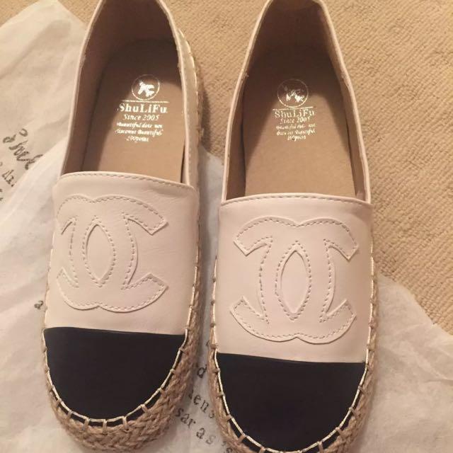 Chanel CC Espadrilles