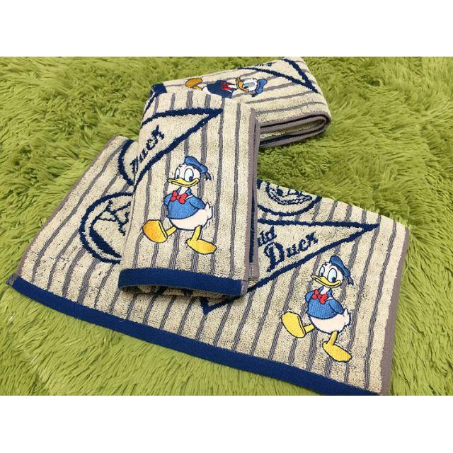 Cute Duck Towel for Children Disney Cartoon 100% Cotton Face Towel for Child Beach Towel Serviette De Bain for Girl Bath Towel.