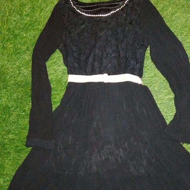 Dress Brokat Elegan