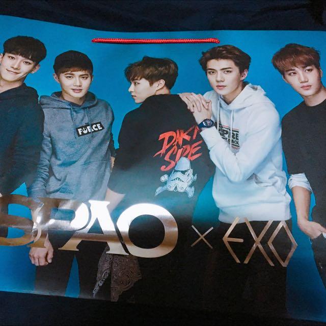 EXO SPAO紙袋