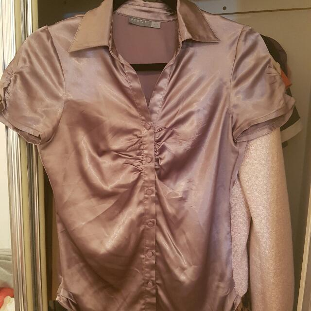 Forecast Work Purple Blouse Size XS  AUD8
