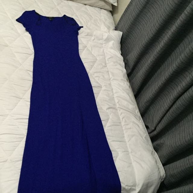 Forever 21 Small Size Simple And Plain Maxi Dress