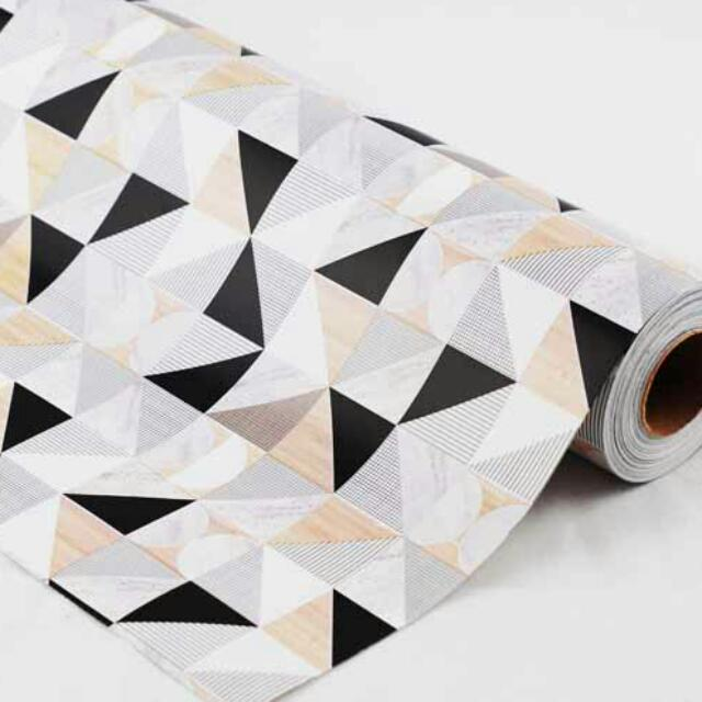 5 Meters Geo Marble Gift Wrapping paper