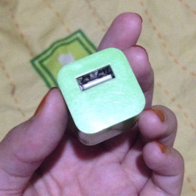 Green Adaptor ( Colokan USB)