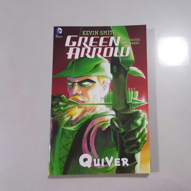 Green Arrow Quiver By Kevin Smith Books Stationery Comics