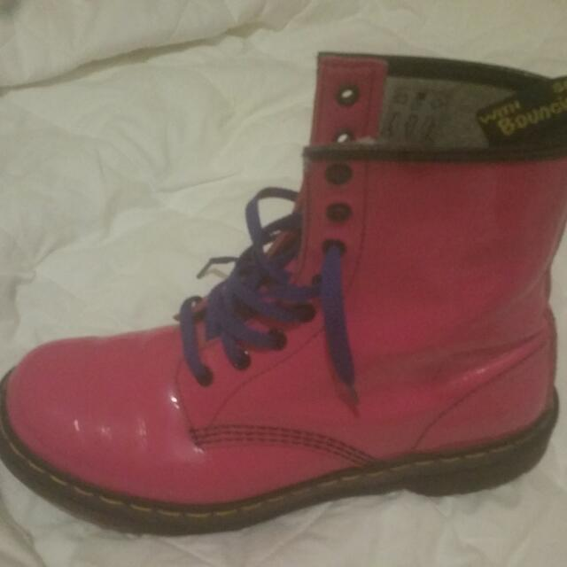 Hot Pink Doc Martens Sz41