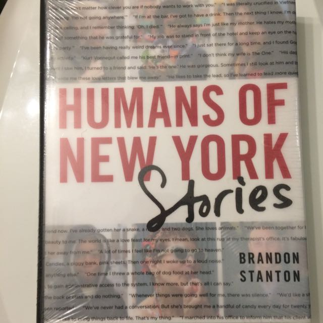 *RESERVED* Humans Of New York Book