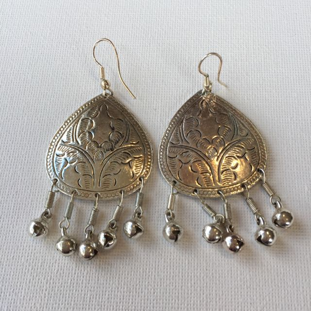 Indian Silver Earrings