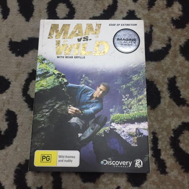 Man Vs Wild DVD