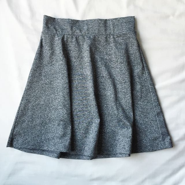 marle grey skater skirt