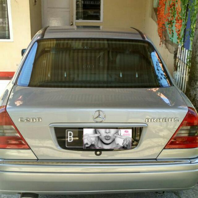 Mercedes-Benz C200 elegant BRABUS Tahun 1996