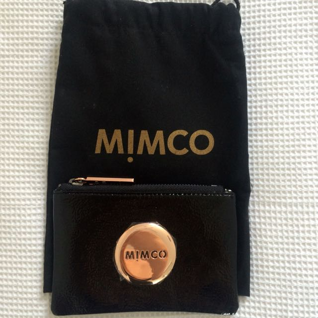 Mimco - Small Pouch - Rose Gold