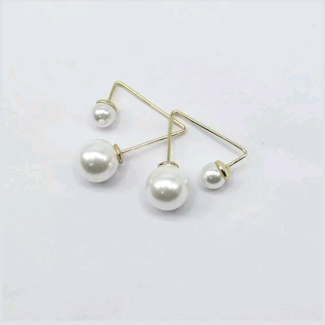 Pearl /gold Ear Stud