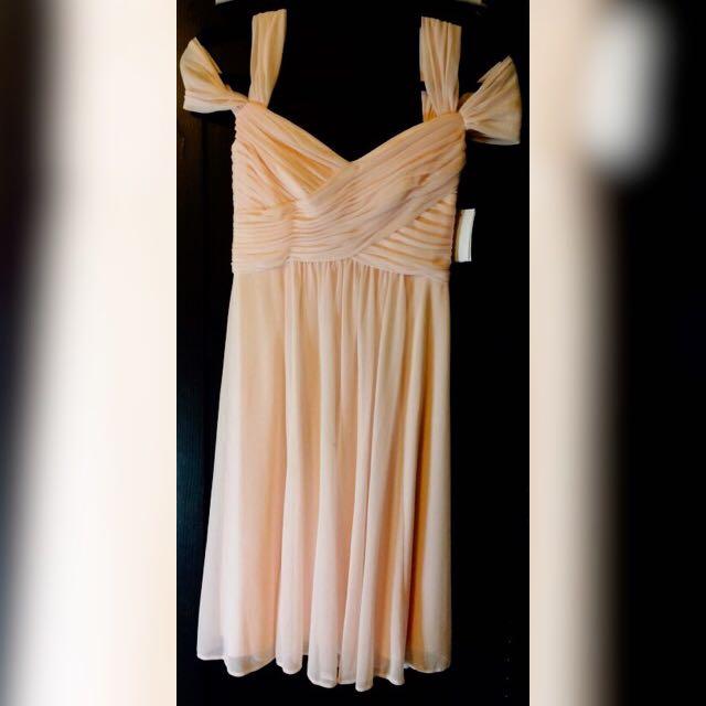 Petal Pink Chiffon Dress