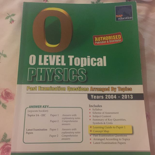 Physics o Level 10 Years Series