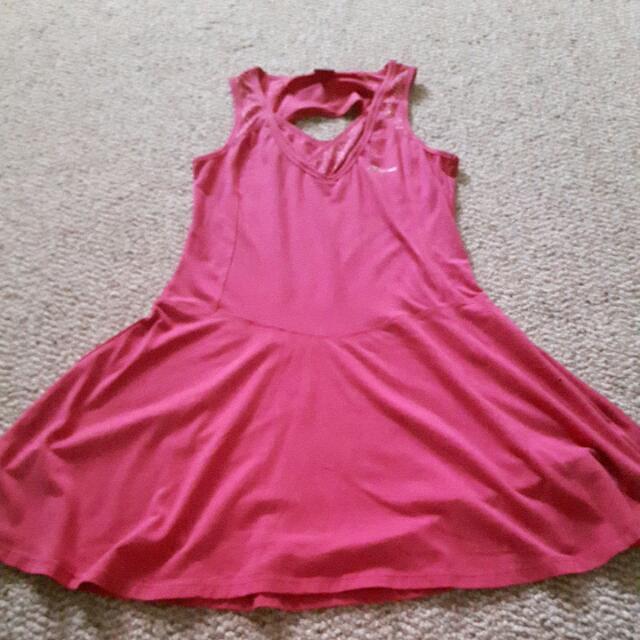 Pink Sports Dress