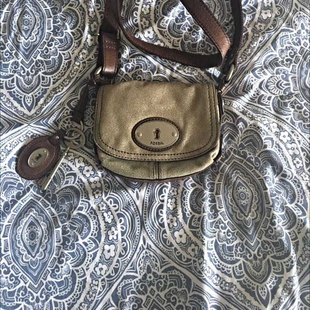Small Fossil Crossbody