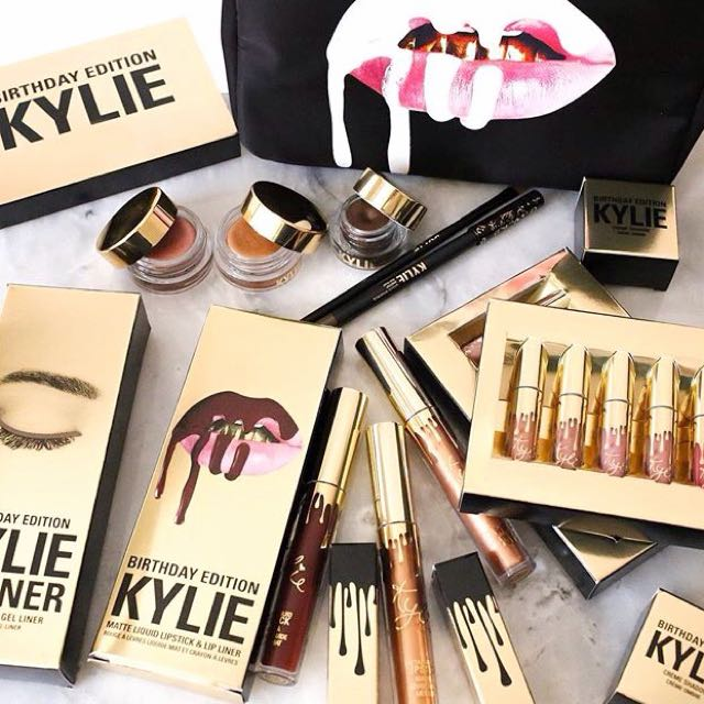 The Kylie cosmetic limited edition birthday collective bundle- For KylieJenner's lover and fans!