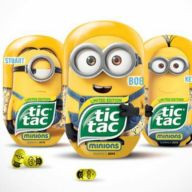 澳洲限定版小小兵Tic Tac/minion tic tac-Stuart款