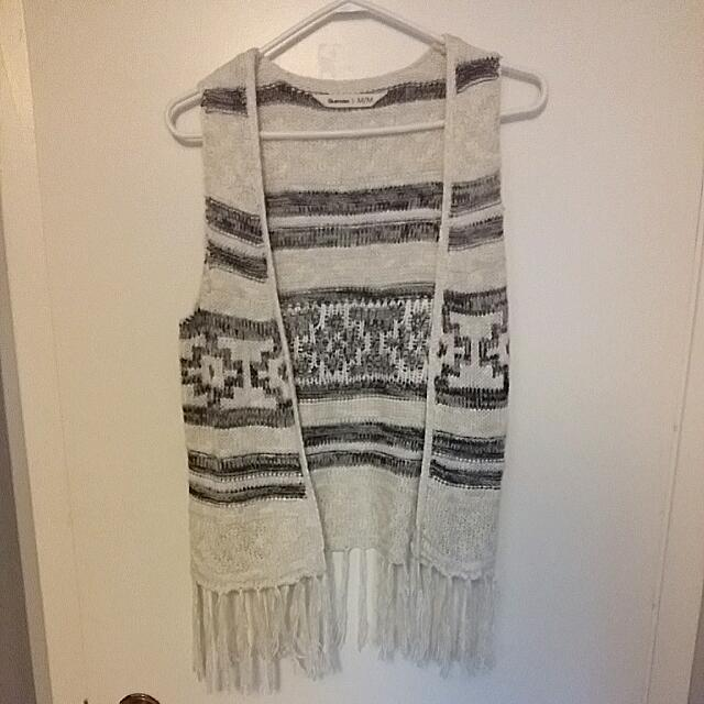 Tribal Print Vest