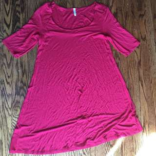 EUC Red Old Navy Tunic