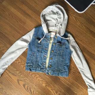 Denim And Grey Jacket
