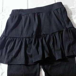 內搭裙褲(黑色)