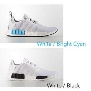 預購✔️ Adidas NMD R1 白藍 白黑 男生尺碼