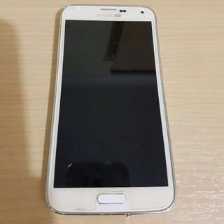 Unlocked White Samsung Android Phone s 5 16gb #inspectorgadget