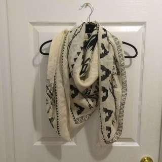 H&M Navajo Style Scarf (square)
