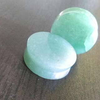 1 Inch Mint Stone spacers