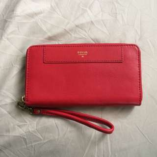Red Fossil Wallet *RESERVED*