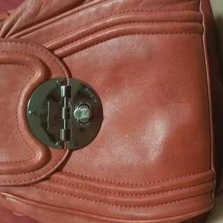 Mimco Mars Red Hip Bag