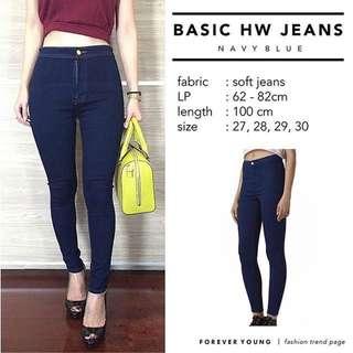 HW Basic Jeans Punny