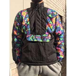 Retro Half Zip Ski Jacket