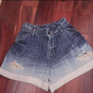 日牌Heather高腰牛仔褲