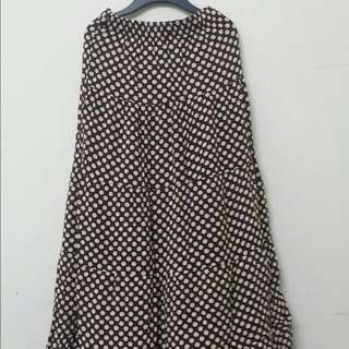 (MARKDOWN) Polka Dot Skirt