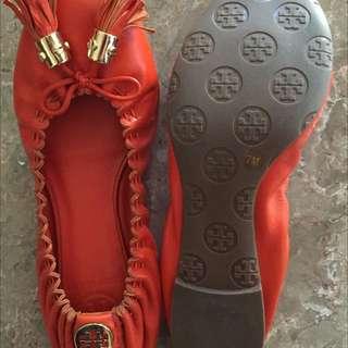 Toru Burch Leather Ballet Flats