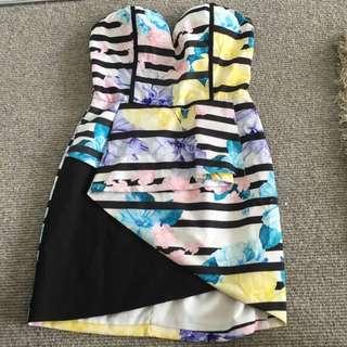 Strapless Business Dress