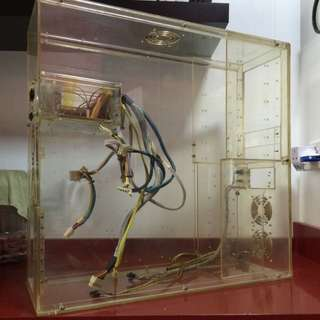 Clear Acrylic PC Chassis