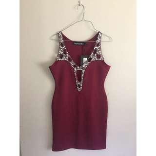 Jewel Embellished Dress