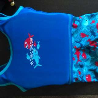 UPF50 'Resist The Ray' Babies Swim Outfit